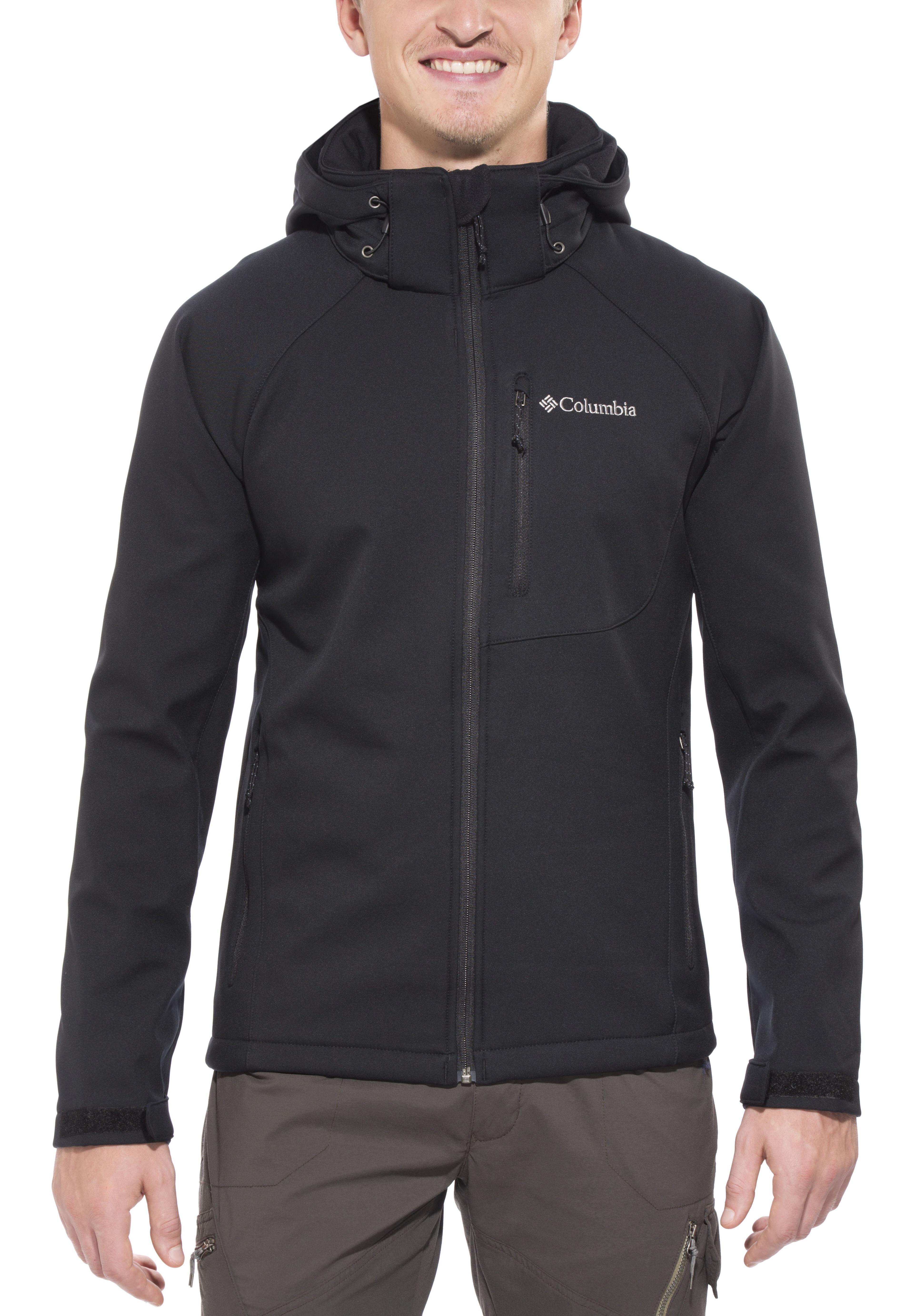 Columbia Cascade Ridge II Jacket Men black at Addnature.co.uk 4b7a9d0d848